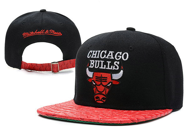 Chicago Bulls Snapback Hat XDF 10